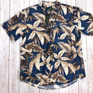 David Taylor Hawaiian Tropical Shirt size Lg NWT